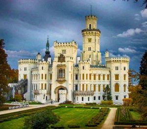 Hluboká Castle, Czech Republic.