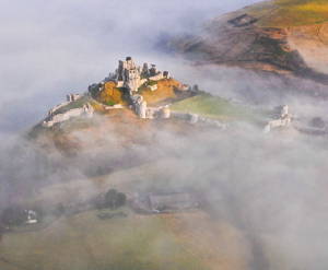 Shrouded by the mists of time.