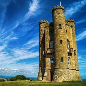 Broadway Tower is an 18th-century folly in the Cotswolds of England.