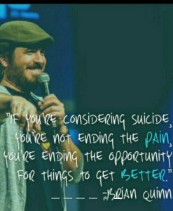 Q of Tell Em Steve Dave, no stranger to depression. Glad he is with us and part of the best podc ...