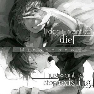 Same here..   just wanna stop existing