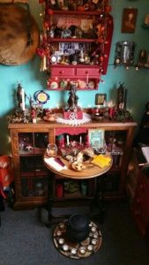 Stunning Solstice Altar from Paige Primrose Lumpkin.