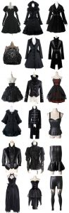 black outfit – steampunk Love this wish I could get some of them!! But some aren't m ...