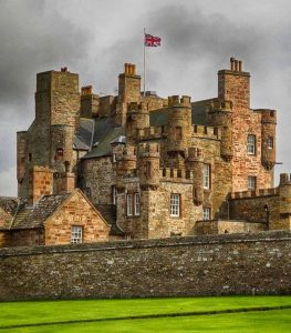 Castle of Mey, Scotland.