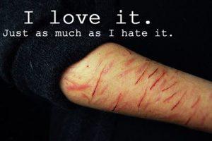 Cutting, Self-Harm, Depressed, Stessed | We Heart It