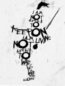 The Black Parade, Famous Last Words tattoo design. Killjoy/MCRmy approved!