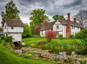 Brockhampton Manor in the English county of Herefordshire is a 14th-century moat