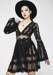 Spell Castin' Lace Dress