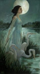 """""""The Marsh Kings Daughter"""" Art by Kimberly Kincaid – From The Hans Christian A ..."""