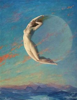 The Goddess in the Moon…