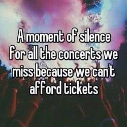 "Or you're not allowed to go because it's ""too far away"""