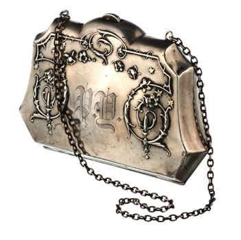 Victorian sterling silver purse