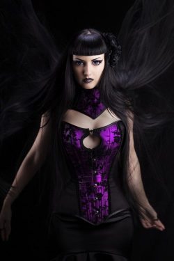 Gothic Beauty Obsidian Kerttu from Serbia.