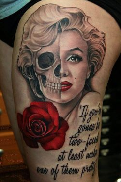 Marilyn Monroe Tattoos – Inked Magazine