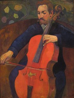 peira:  brazenswing: Paul Gauguin: Upaupa Schneklud (The Player Schneklud) 1894