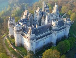 Pierrefonds Castle, France.