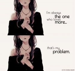 This is me..I love too much